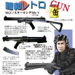 昭和レトロGun MGC スターリングMk-V