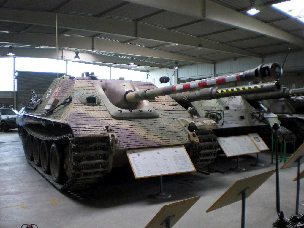 Picture of Jagdpanther at Wehrtechnische Studiensammlung in Koblenz, Germany