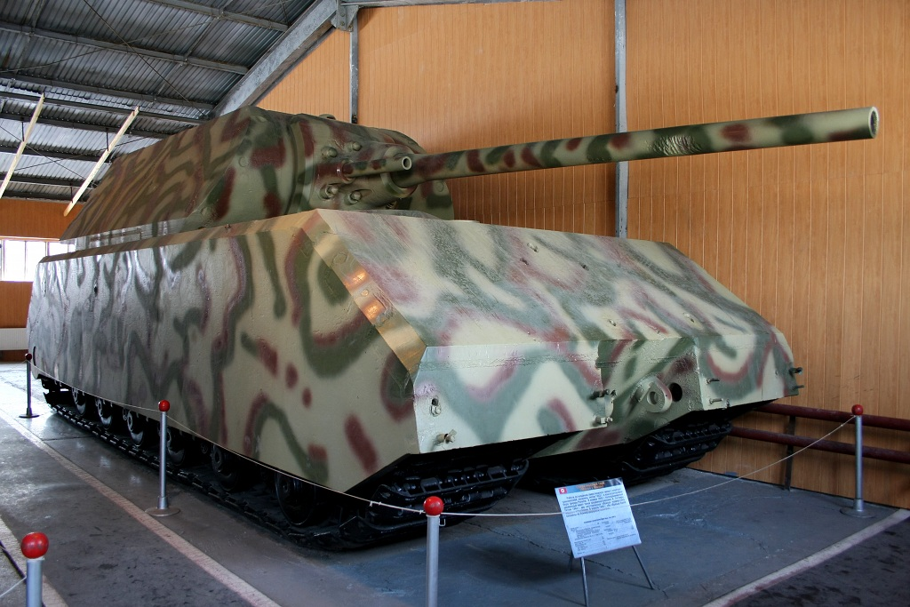 Panzerkampfwagen «Maus» at the Kubinka Tank Museum