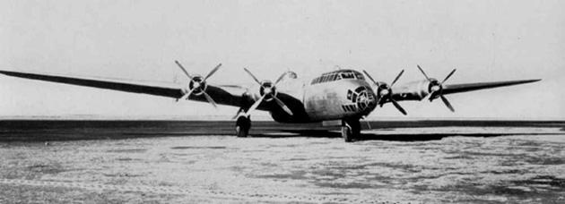 4発爆撃機