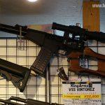 ロシアの特殊用途狙撃銃、VSS電動ガンが販売されていた。