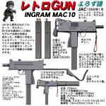 レトロGUN  JAC イングラムMAC10