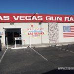 ラスベガスの射撃場とショップ