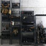 サバゲ沼の住人へおくる、専用什器シリーズ。 ハンドガン・ライフル、装備のディスプレイ収納ラック発売。