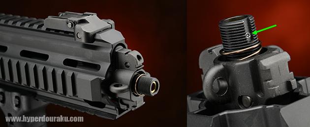M14逆ネジ仕様