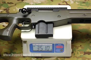 실측 무게는 3,510 g