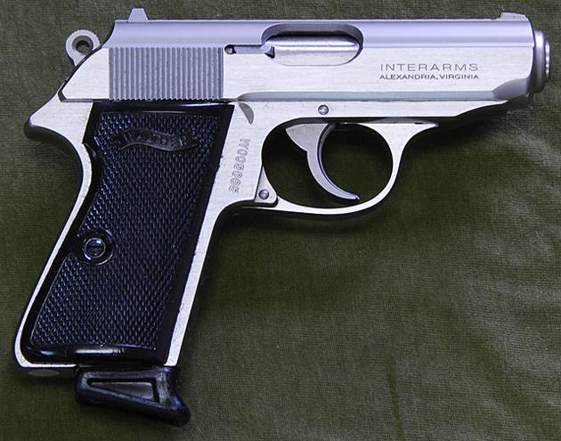 Walther >> エアガンレビュー:マルゼン ガスガン ワルサーPPK/S ムービープロップシリーズ