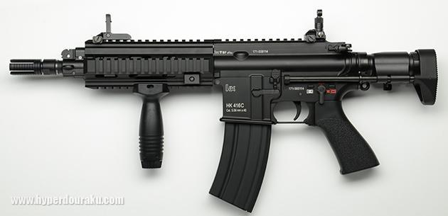 HK416C 左側面
