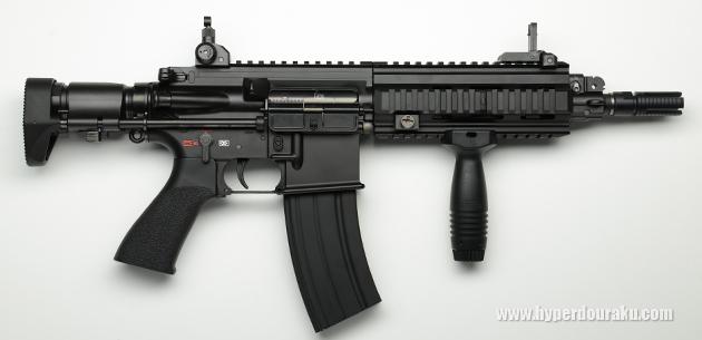 HK416C 右側面