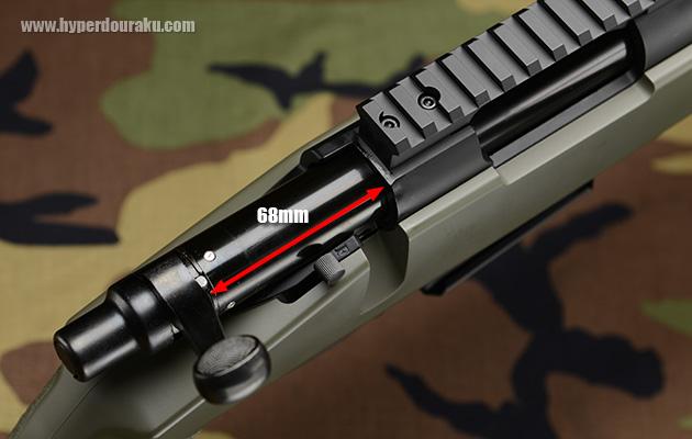 후퇴 스트로크는 68mm
