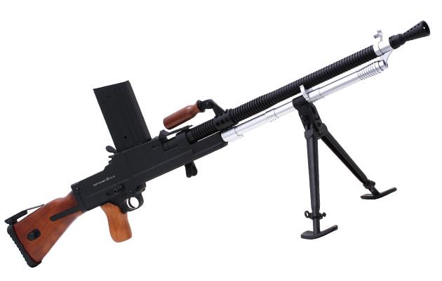 ZB26軽機関銃 日本軍では鹵獲したZB26を研究し、後の九六式、九九式軽機関銃の開発に活かして