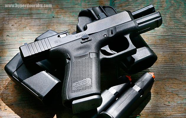 glock グロック 19 gen5 cqbグアム 実銃レポート撮って出し