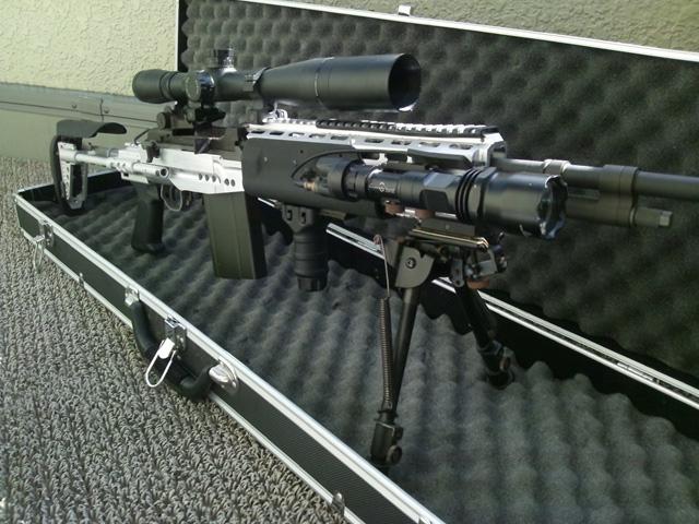 カスタムガン・コンテスト2011 長物ガスブロ部門 エントリー M14 Ebr Silver