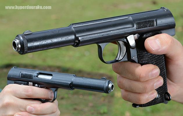18 cm 25er Pistole PPK Tester